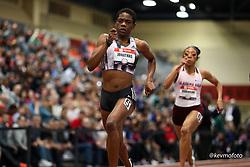 2020 USATF Indoor Championship<br /> Albuquerque, NM 2020-02-15<br /> photo credit: © 2020 Kevin Morris<br /> womens 400m, adidas