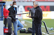 Lucien Favre im Interview during the Paderborn vs Borussia Dortmund Bundesliga match at Benteler Arena, Paderborn, Germany on 31 May 2020.
