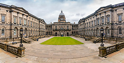 Exterior view of Old College quadrangle at Edinburgh University, Edinburgh, Scotland, UK