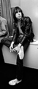 The Ramones backstage London 1978