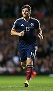 Chris Martin of Scotland  - UEFA Euro 2016 Qualifier - Scotland vs Republic of Ireland - Celtic Park Stadium - Glasgow - Scotland - 14th November 2014  - Picture Simon Bellis/Sportimage