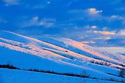 Sunrise in Qu' Appelle Valley<br /> near Craven <br /> Saskatchewan<br /> Canada