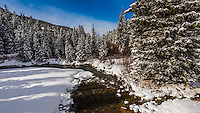River Run Village, Keystone Resort, Colorado USA.