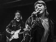 German pop-punk duo Gurr at Kulturclub schon schön in Mainz