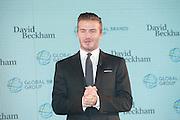 HONG KONG, CHINA - DECEMBER 03: (CHINA OUT) <br /> <br /> David Beckham Attends Company Establishment Hong Kong Press Conference<br /> <br /> Football star David Beckham attends press conference of his own company establishment on December 3, 2014 in Hong Kong, China.<br /> ©Exclusivepix Media