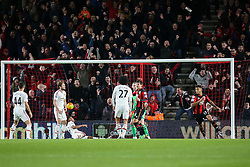 Goal, Joshua King of Bournemouth scores, Bournemouth 2-1 Manchester United - Mandatory by-line: Jason Brown/JMP - Mobile 07966 386802 12/12/2015 - SPORT - FOOTBALL - Bournemouth, Vitality Stadium - AFC Bournemouth v Manchester United - Barclays Premier League