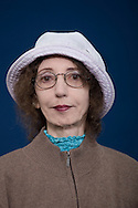 Acclaimed best-selling American author Joyce Carol Oates, pictured at the Edinburgh International Book Festival where she talked about her long and successful career in literature. The three-week event is the world's biggest literary festival and is held during the annual Edinburgh Festival. The 2010 event featured talks and presentations by more than 500 authors from around the world.