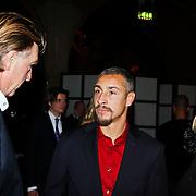 NLD/Amsterdam/20101115 - Life after Football lifestyle Fair 2010, Aad de Mos in gesprek met Henrik Larsson