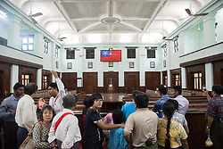 July 19, 2017 - Yangon, Yangon, Myanmar - People visit The Secretariat Office where MyanmarÃ•s independence hero General Aung San was assassinated in 1947 along with eight others in Yangon Myanmar on 70th Martyr's day, 19 July 2017. (Credit Image: © Thet Htoo via ZUMA Wire)