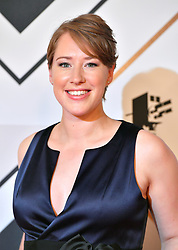 Lizzy Yarnold during the red carpet arrivals for the BBC Sports Personality of the Year 2018 at The Vox at Resorts World Birmingham.