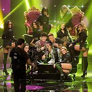 NLD/Hilversum/201702017- Finale The Voice of Holland 2017, Vinchenzo en Ronnie Flex