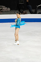 KELOWNA, BC - OCTOBER 26: Japanese figure skater Rika Kihira competes during ladies long program of Skate Canada International held at Prospera Place on October 26, 2019 in Kelowna, Canada. (Photo by Marissa Baecker/Shoot the Breeze)