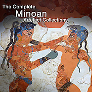 Pictures & Images of Minoan Frescoes, Antiquities & Artefacts