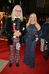 BILLY CONNOLLY and PAMELA STEPHENSONat the GQ Men of The Year Awards 2016 in association with Hugo Boss held at Tate Modern, London on 6th September 2016.