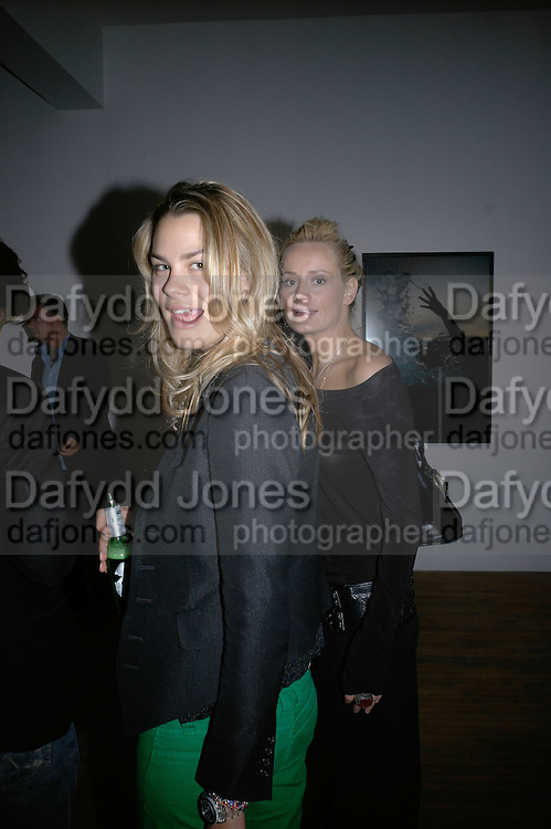 Isabelle Bscher AND Kalita Al-Swaidi,  Twenty Hoxton Square. Opening exhibition of new gallery at Twenty Hoxton Square. -DO NOT ARCHIVE-© Copyright Photograph by Dafydd Jones. 248 Clapham Rd. London SW9 0PZ. Tel 0207 820 0771. www.dafjones.com.