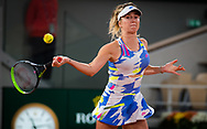 Elina Svitolina of the Ukraine in action during the second round at the Roland Garros 2020, Grand Slam tennis tournament, on September 30, 2020 at Roland Garros stadium in Paris, France - Photo Rob Prange / Spain ProSportsImages / DPPI / ProSportsImages / DPPI