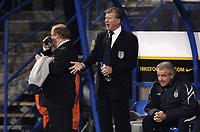 Photo: Richard Lane.<br />Croatia v England. UEFA European Championships 2008 Qualifying. 11/10/2006. <br />England Head coach, Steve McClaren urges on his team.