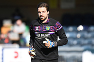 Norwich City goalkeeper Tim Krul (1) during the EFL Sky Bet Championship match between Wycombe Wanderers and Norwich City at Adams Park, High Wycombe, England on 28 February 2021.