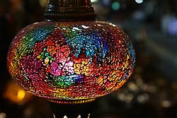 June 6, 2017 - Colourful lanterns in a Gaziantep market highlight the atmosphere of Ramadan (Credit Image: © Louai Barakat/ImagesLive via ZUMA Wire)