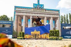 BRINKMANN, Markus (GER), Pikeur Dylon<br /> Berlin - Global Jumping Berlin 2019<br /> CSI5* - LONGINES GLOBAL CHAMPIONS TOUR Grand Prix of Berlin<br /> presented by TENNOR<br /> Wertungsprüfung zur Longines Global Champions Tour 2019 <br /> Springprüfung mit Stechen, international<br /> 27. Juli 2019<br /> © www.sportfotos-lafrentz.de/Stefan Lafrentz