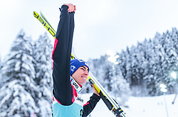 17.12.2017, Gross Titlis Schanze, Engelberg, SUI, FIS Weltcup Ski Sprung, Engelbe17.12.2017, Gross Titlis Schanze, Engelberg, SUI, FIS Weltcup Ski Sprung, Engelberg, im Bild Stefan Kraft (AUT, 3. Platz) // 3rd placed Stefan Kraft of Austria during Mens FIS Skijumping World Cup at the Gross Titlis Schanze in Engelberg, Switzerland on 2017/12/17. EXPA Pictures © 2017, PhotoCredit: EXPA/ JFKrg, im Bild during Mens FIS Skijumping World Cup at the Gross Titlis Schanze in Engelberg, Switzerland on 2017/12/17. EXPA Pictures © 2017, PhotoCredit: EXPA/JFK