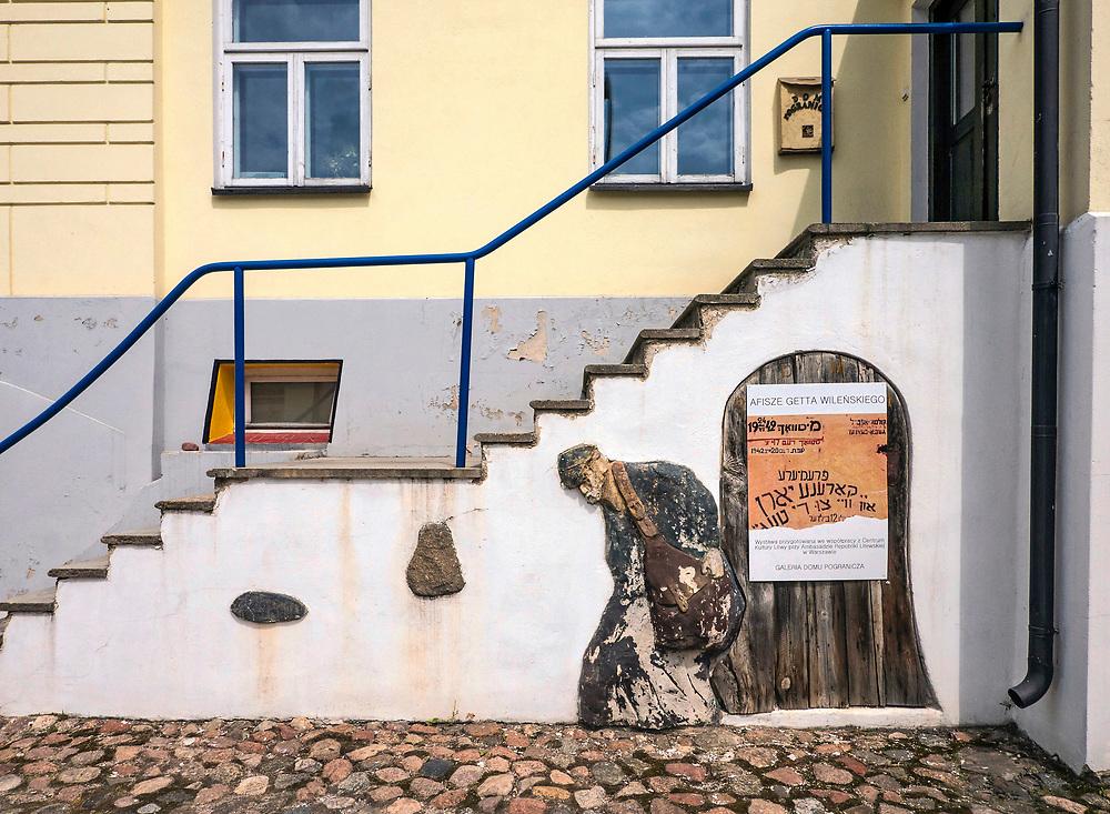 "Ośrodek ""Pogranicze - sztuk, kultur, narodów"" w Sejnach, Polska<br /> ""Borderlands - Arts, Cultures, Nations"" Center in Sejny, Poland"