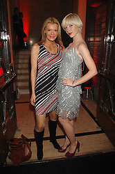 Left to right,and CHARLOTTE DUTTON at the M.A.C. Viva Glam party featuring a performance by Dita Von Teese of 'Lipteese' held at the Bloomsbury Ballroom, Victoria House, Bloomsbury Square, London on 27th June 2007.<br /> <br /> NON EXCLUSIVE - WORLD RIGHTS