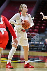 NORMAL, IL - December 04: Kayel Newland during a college women's basketball game between the ISU Redbirds  and the Austin Peay Governors on December 04 2018 at Redbird Arena in Normal, IL. (Photo by Alan Look)