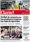 October 09, 2021 - LATIN AMERICA: Front-page: Today's Newspapers In Latin America