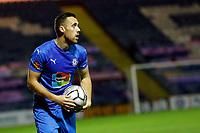 Jordan Keane. Stockport County 0-0 Solihull. Vanarama National League. 27.10.20