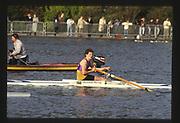 London,  England, Great Britain, 1987 Westminster Serpentine Sprint Regatta, Hyde Park.<br /> [Mandatory Credit: Peter SPURRIER], Club single, Men, Rupert OBHOLZER,