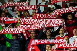 October 5, 2017 - Yerevan, Armenia - Poland's fans during the FIFA World Cup 2018 qualification football match between Armenia and Poland in Yerevan on October 5, 2017. (Credit Image: © Foto Olimpik/NurPhoto via ZUMA Press)