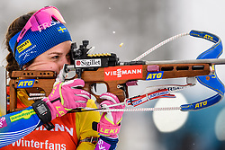 March 16, 2019 - –Stersund, Sweden - 190316 Anna Magnusson of Sweden competes in the Women's 4x6 km Relay during the IBU World Championships Biathlon on March 16, 2019 in Östersund..Photo: Petter Arvidson / BILDBYRÃ…N / kod PA / 92268 (Credit Image: © Petter Arvidson/Bildbyran via ZUMA Press)