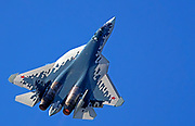 Sukhoi Su-57 (Felon) is a stealth, single-seat, twin-engine multirole fifth-generation jet fighter being developed since 2002 for air superiority and attack operations.
