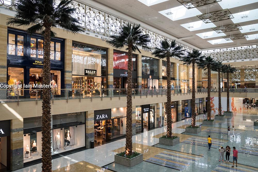 Mirdif City Centre shopping mall in Dubai United Arab Emiraees