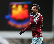 West Ham's Nene looks on dejected at the final whistle<br /> <br /> Barclays Premier League - West Ham United  vs Crystal Palace  - Upton Park - England - 28th February 2015 - Picture David Klein/Sportimage