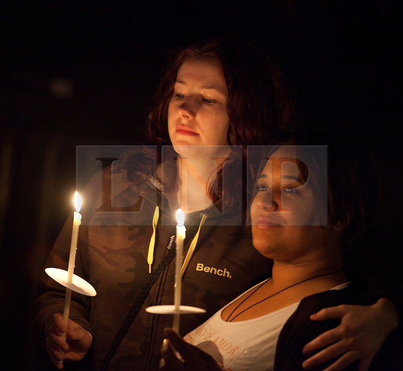"""© under license to London News Pictures. 21/11/2010: FILE PICTURE. (A candlelit vigil at Manchester's Sackville Park's Aids Memorial 30/08/2010) In an interview, published in a new book, the Pope has relaxed the Catholic Church's stance on condom use as a first step in preventing the spread of HIV. This, 10 days ahead of """"World AIDS Day"""", on 1st December, when many will gather to raise awareness of HIV and in memorial of its victims, past and present. Picture credit: Joel Goodman/London News Pictures"""
