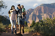 SHOT 8/6/17 6:32:08 PM - UOT Tourism photos of Brian Head and Cedar City, Utah. Images include riding Brian Head Resort in Brian Head, Utah; exploring Cedar Breaks National Monument, hiking Kolob Canyons in Zion National Park and mountain biking the Lava Flow Trail in Cedar City, Utah. (Photo by Marc Piscotty / © 2017)