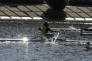 Seville. SPAIN, 18.02.2007, SWE W1X Frida SVENSSON leads home RSA W1X Rika GEYSER,  in Sundays final, at the FISA Team Cup, held on the River Guadalquiver course. [Photo Peter Spurrier/Intersport Images]    [Mandatory Credit, Peter Spurier/ Intersport Images]. , Rowing Course: Rio Guadalquiver Rowing Course, Seville, SPAIN,