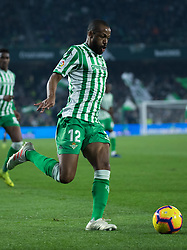 December 9, 2018 - Seville, Andalucía, Spain - Sidnei, Real Betis, during the LaLiga match between Real Betis and Rayo in Benito Villamarín Stadium (Seville) (Credit Image: © Javier MontañO/Pacific Press via ZUMA Wire)
