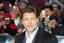 © Licensed to London News Pictures. 12/06/2013. London, UK. Russell Crowe, Man of Steel European Film Premiere, Leicester Square London UK, 12 June 2013. Photo credit : Richard Goldschmidt/Piqtured/LNP