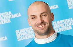 Blaz Perko poses for a portrait during presentation of Team Slovenia for Sochi 2014 Winter Olympic Games on January 22, 2014 in Grand Hotel Union, Ljubljana, Slovenia. Photo by Vid Ponikvar / Sportida