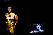 January 2013: filming of NASCAR commercials. <br /> <br /> Kyle Busch