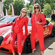 Erica Pelosini, Carmen Jorda attend Cash & Rocket Photocall at Wellington Arch, on 6 June 2019, London, UK
