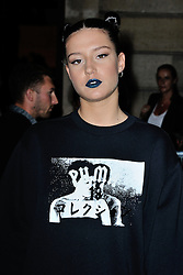 Adele Exarchopoulos arriving at the Rihanna Puma show as a part of Paris Fashion Week Ready to Wear Spring/Summer 2017 in Paris, France on September 28, 2016. Photo by Aurore Marechal/ABACAPRESS.COM