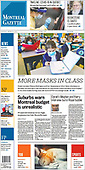 March 09, 2021 (CANADA): Front-page: Today's Newspapers In Canada