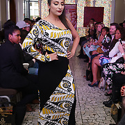 London England,UK: 17th September 2016: Missing Polynesia from Hawaii showcases is latest colltction at the  LFW S/S 2017 : The London Pacific Collective of A Pacific Fashion Show host by London Pacific Fashion Ltd at Grand Connaught Rooms Rooftop in London. Photo by See Li