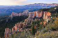 The unique Land forms of Bryce Canyon, Utah, USA