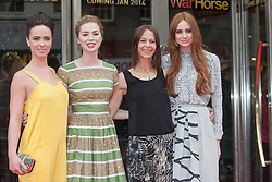 Amy Manson, Freya Mayor, Kate Dickie,Karen Gillan.<br /> Closing night of EIFF gala screening of Not Another Happy Ending at the Festival Theatre.<br /> ©Michael Schofield.
