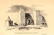 Bab-el-Soultaun, the Sultan's Gate, Waregla From the Book ' Great Sahara: wanderings south of the Atlas Mountains. ' by Tristram, H. B. (Henry Baker),  Published by J. Murray in London in 1860